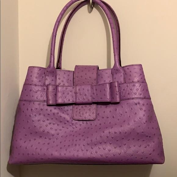 kate spade Handbags - Beautiful Kate Spade in purple leather.